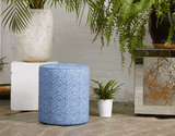 Wewe Pouffe Blue