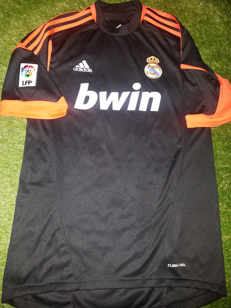 Casillas Real Madrid 2012 2013 110 years Anniversary Black Jersey Shirt Camiseta M