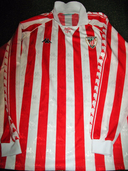 Athletic Bilbao Kappa 1994 1995 Jersey Shirt Camiseta XL - foreversoccerjerseys