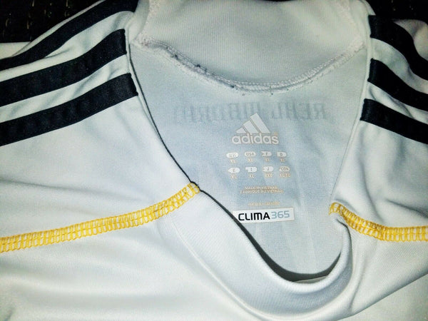 Cristiano Ronaldo Real Madrid DEBUT SEASON 2009 2010 Jersey Shirt Camiseta Maglia XL - foreversoccerjerseys