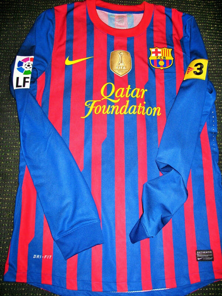 Fabregas Barcelona MATCH ISSUED 2011 2012 Jersey Shirt Camiseta M - foreversoccerjerseys