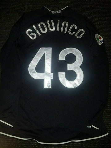 Giovinco Juventus 2006 2007 MATCH WORN Black Jersey Shirt Maglia M - foreversoccerjerseys