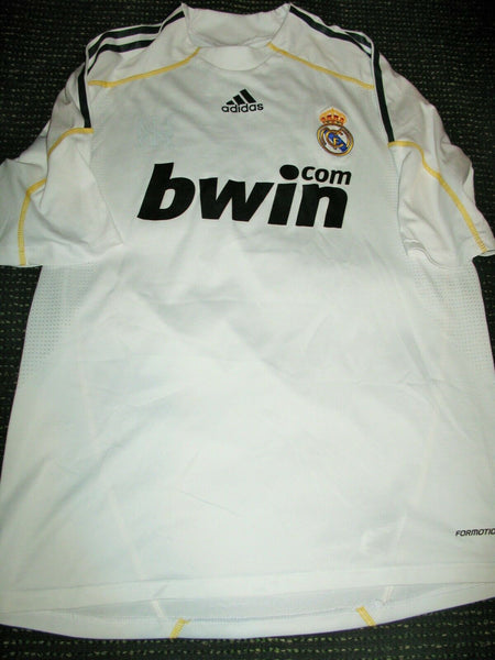 Guti Real Madrid 2009 2010 MATCH WORN FRIENDLY Jersey Shirt Camiseta L - foreversoccerjerseys