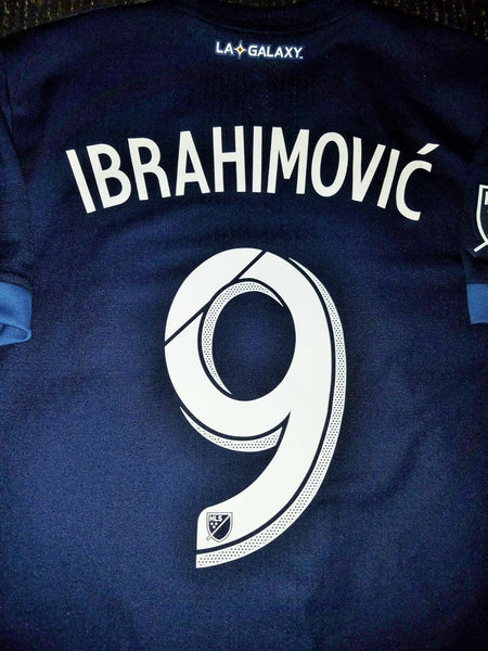 Ibrahimovic Los Angeles LA Galaxy 2018 ADIZERO PLAYER ISSUE Jersey L - foreversoccerjerseys
