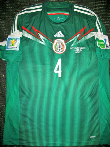 Marquez Mexico 2014 World Cup ADIZERO PLAYER ISSUE Jersey Shirt Camiseta XL - foreversoccerjerseys
