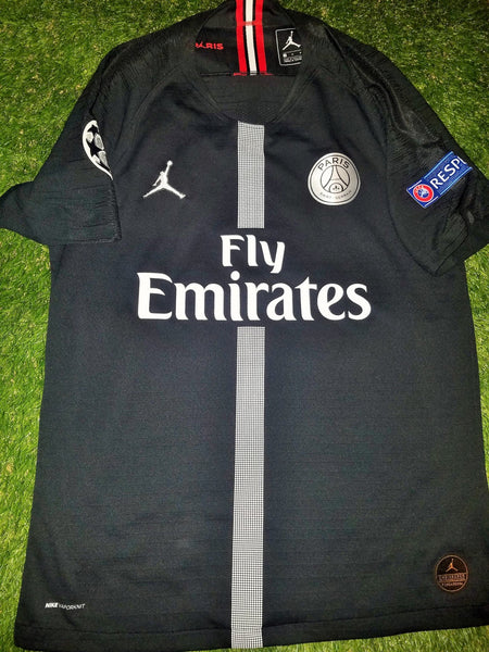 Mbappe Psg Paris Saint Germain JORDAN VAPORKNIT PLAYER ISSUE 2018 2019 Jersey M foreversoccerjerseys