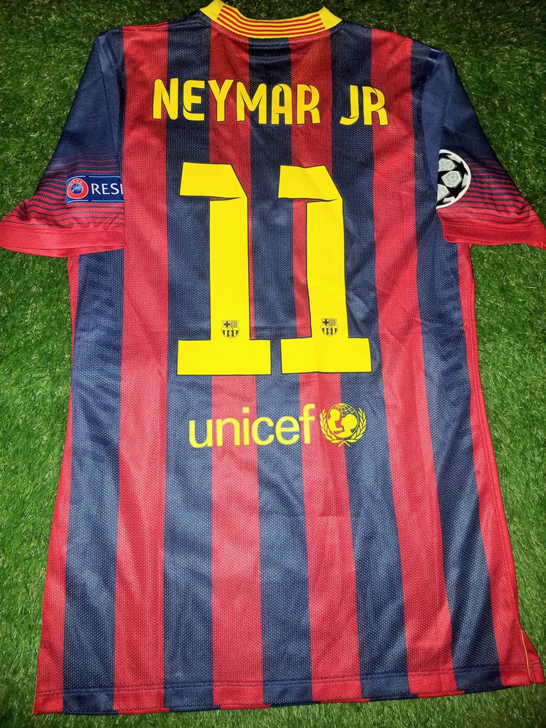 Neyman MATCH WORN DEBUT SEASON 2013 2014 Jersey M foreversoccerjerseys