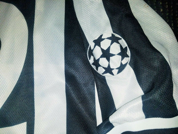 Pessotto Juventus MATCH WORN UEFA 1996 1997 Jersey Shirt Maglia XL - foreversoccerjerseys