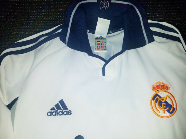 Raul Real Madrid 2000 2001 Jersey Shirt Maillot Camiseta XL - foreversoccerjerseys