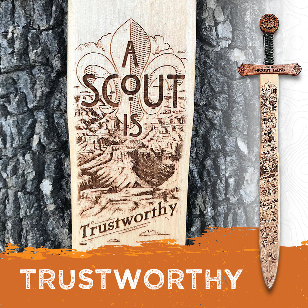 A Scout Is - Trustworthy
