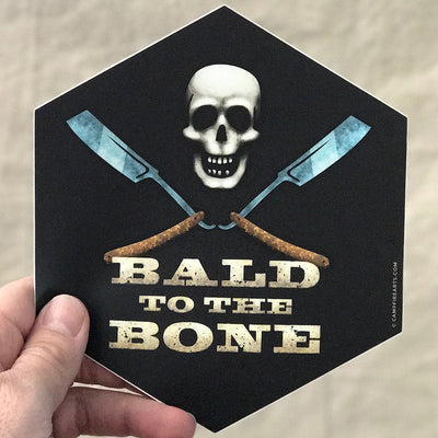 Bumper_Sticker_Bald_Skull_Razors