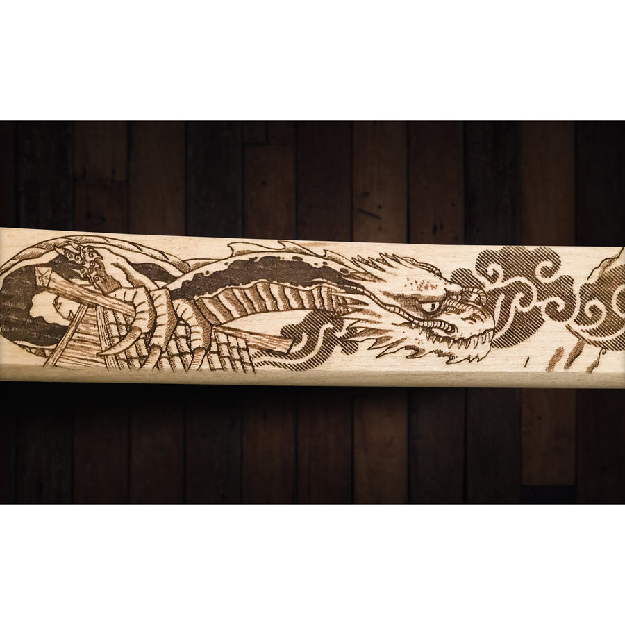 Dojo Dragon Custom Katana Wall Decor