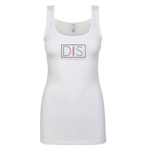 Ladies White Tank
