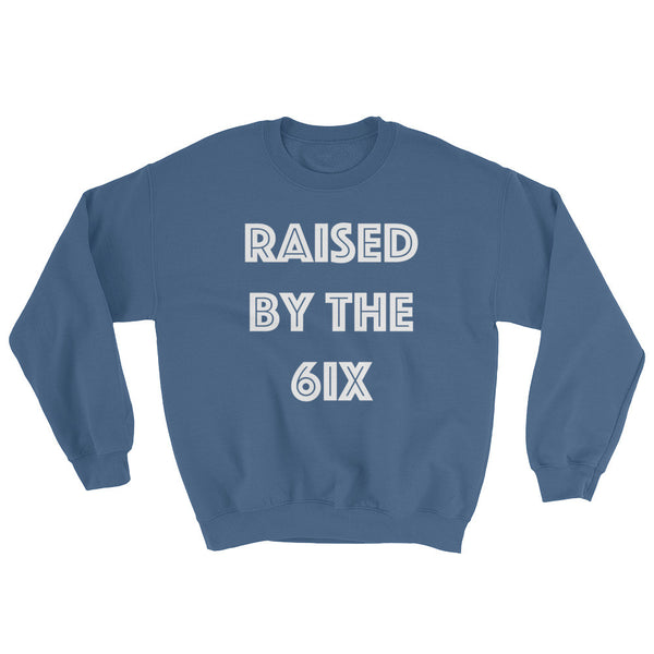 Raised By The 6ix - Special Edition Indigo Blue Crewneck