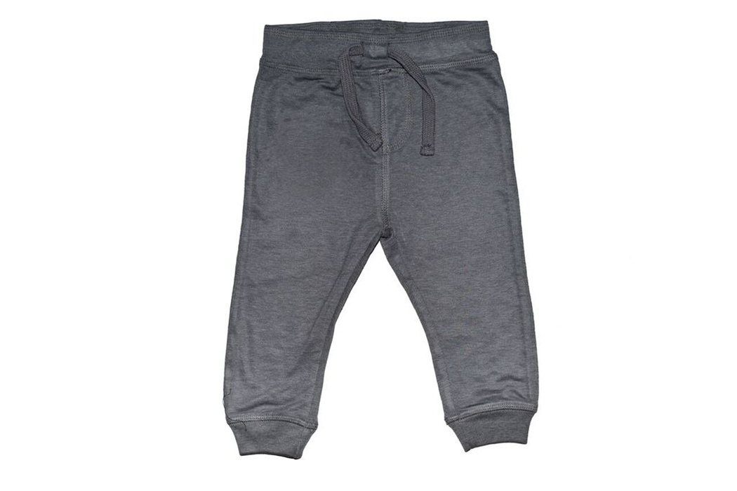 Solid Jogger Pants - Coal