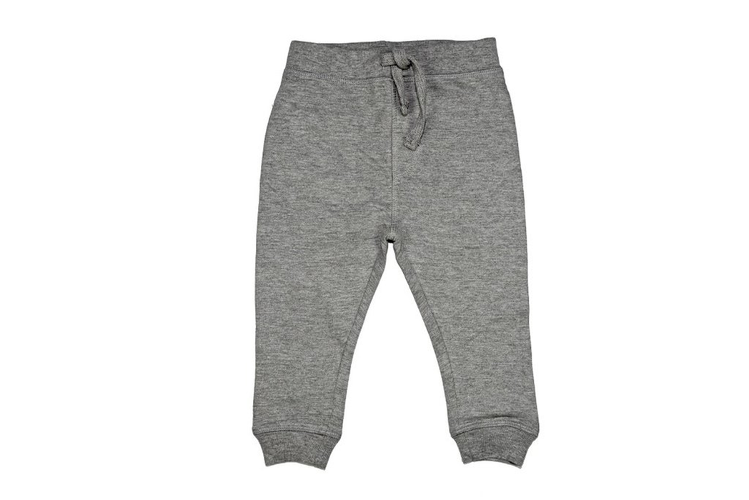 Solid Jogger Pants - Heather Gray