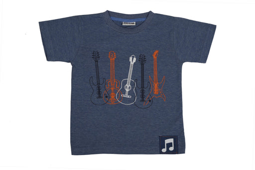 T-Shirt - Guitars - Denim