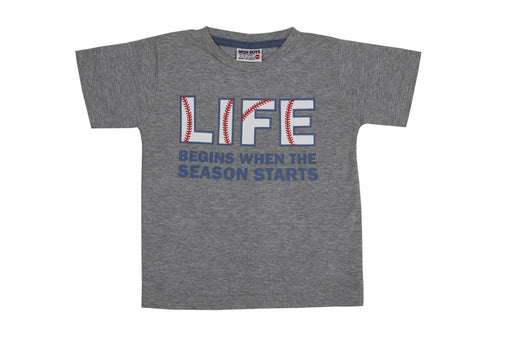 T-Shirt - Baseball Life - Heather