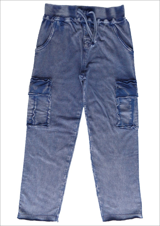 Enzyme Cargo Pants - Navy (4514353184843)