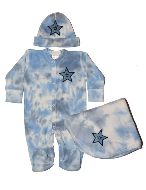 Tie Dye Gift Set Chenille Star with FREE HAT - Jonsnow (3883724832843)