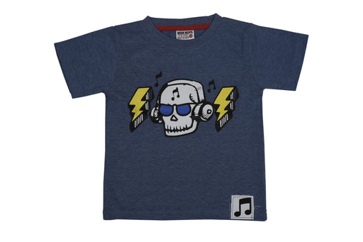 T-Shirt - Skull Jamz - Denim