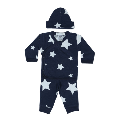 NEW Little Mish Stars 3 Piece Take Me Home Set - Navy (4497765433419)