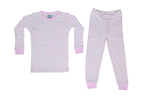 Pajamas - Pink Butterflies on White (1487709634635)