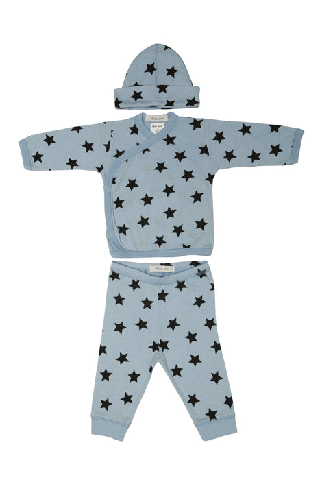 NEW Little Mish Star 3 Piece Take Me Home Set - Light Blue
