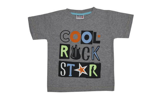 T-Shirt - Cool Rock Star - Heather