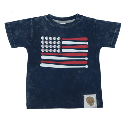 T-Shirt - Baseball Flag (4465620844619)