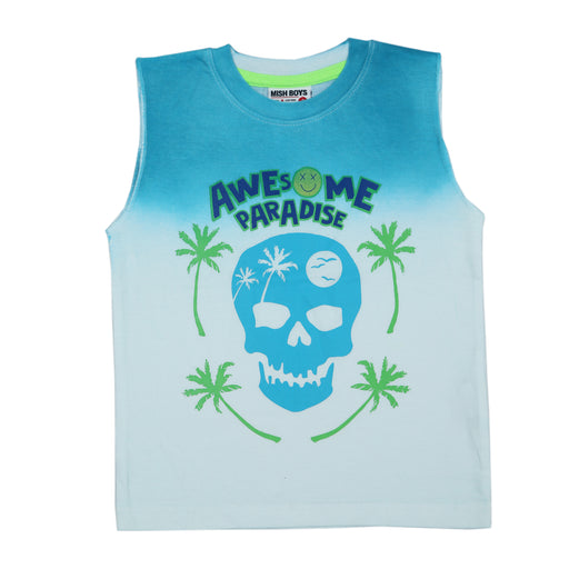 Muscle Tee - Awesome Paradise (4466355634251)