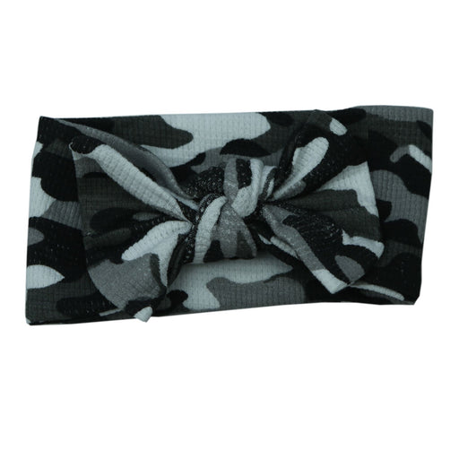 Little Mish Thermal Headband - Black Camo (6558793334859)