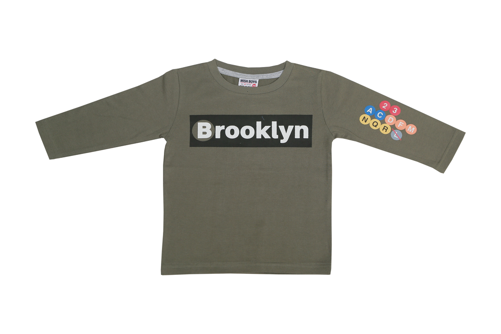 Boys Long Sleeve Shirt Brooklyn