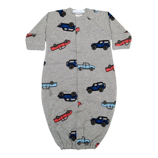 NEW Converter Gown - Cars on Heather (4340325122123)