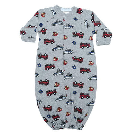 NEW Converter Gown - Firetrucks (4340328235083)