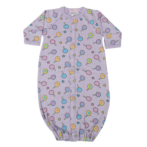 NEW Converter Gown - Lollipops on Lilac (4345778307147)