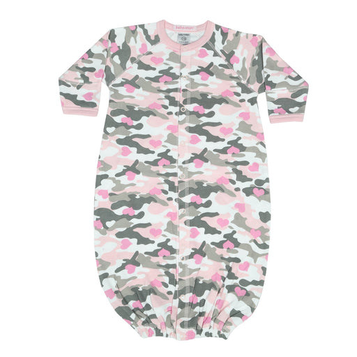 NEW Converter Gown - Pink/Gray Camo Hearts (4345785843787)