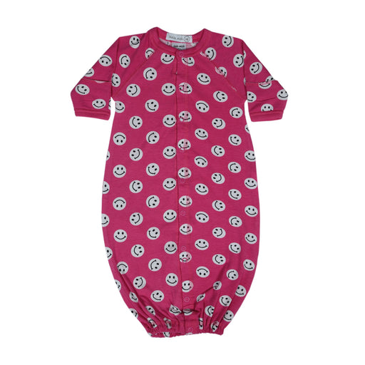 NEW Little Mish Smiley Converter Gown - Bubblegum (4499528843339)