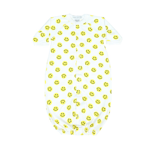 NEW Little Mish Smiley Converter Gown - Yellow (4499531268171)