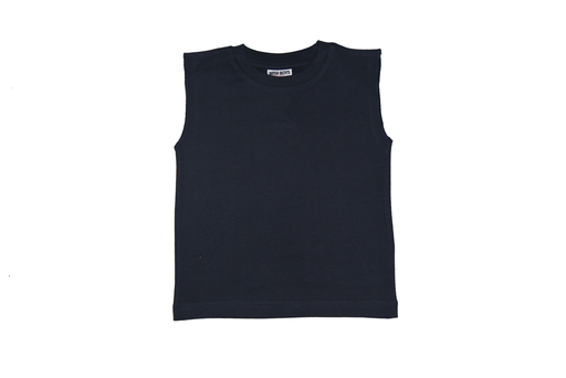 Solid Muscle Tee - Navy (available in 3M and 9M only) (9850945938)