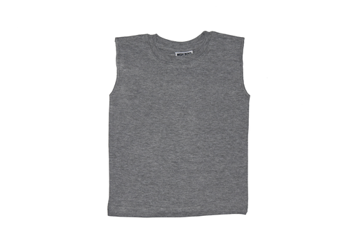 Solid Muscle Tee - Heather Gray (9851110482)