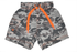 Board Shorts - Gray Camo (available in Size 2 and 6)