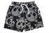 Board Shorts - Black Skulls