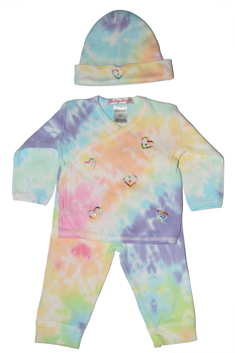 Tie Dye Take Me Home - Hearts - Izzy