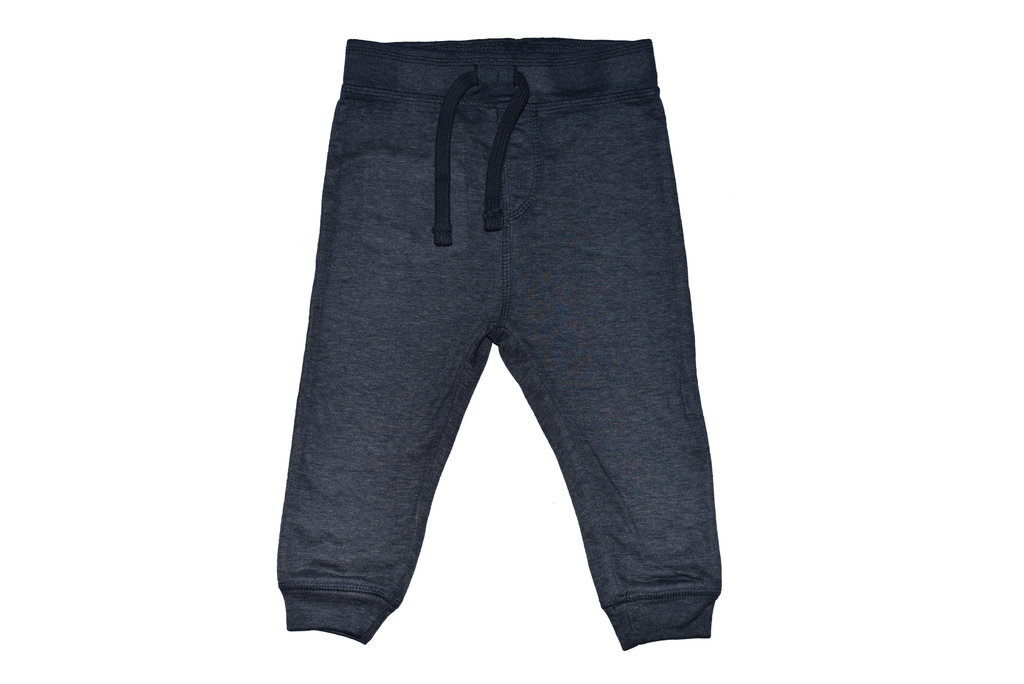 Boys Distressed Jogger Pants - Heathered Navy
