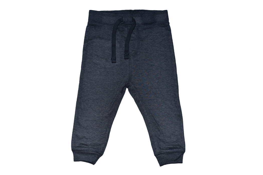 Heathered Navy Jogger Pant