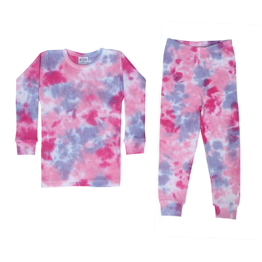 Thermal Tie Dye Pajamas - Diva (4092388048971)