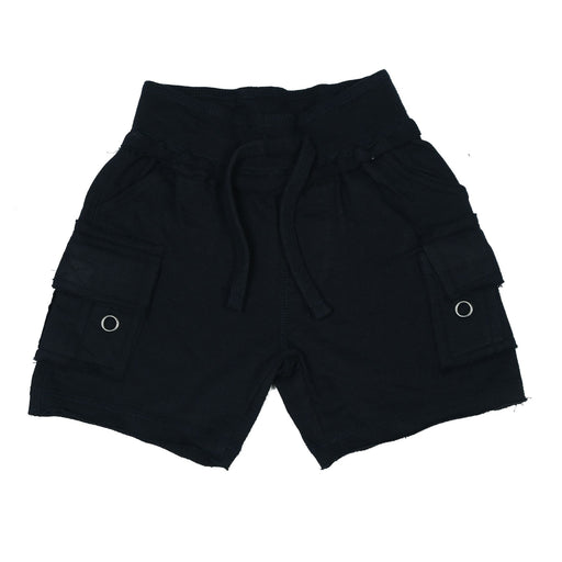 Solid Cargo Shorts - Navy (9849821906)