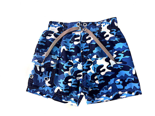 Board Shorts - Navy Camo