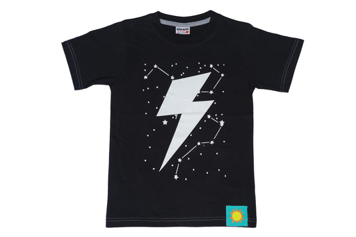 T-Shirt - Lightning - Black